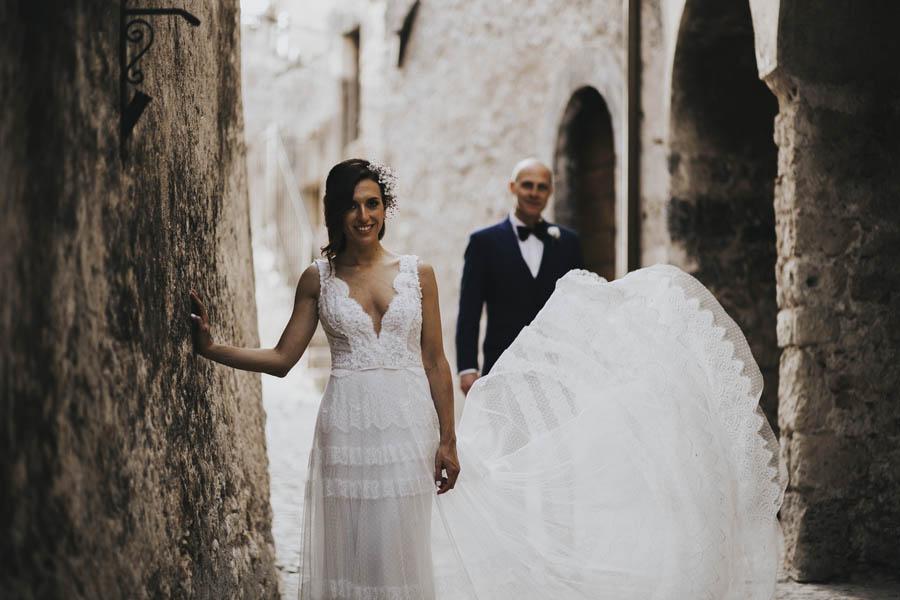 Alessia and David amazing wedding in Santo Stefano di Sessanio