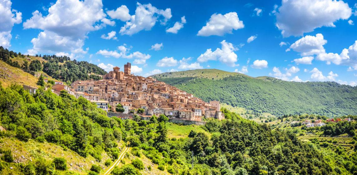A view of Abruzzo